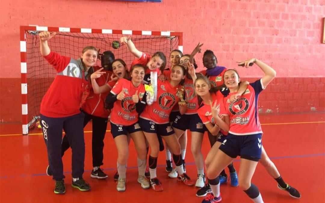 Les -18 filles remportent la coupe de Somme